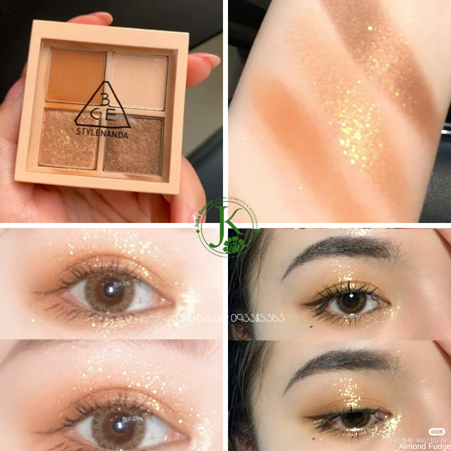 Phấn mắt 4 ô 3CE Mini Multi Eye Color Palette 3.2g