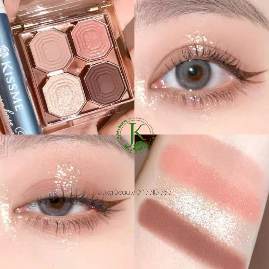 Bảng phấn mắt 4 ô Etude House Play Color Eyes Mini Jewelry 4g