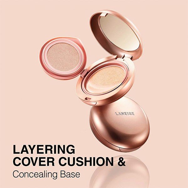 Phấn nước 2 trong 1 Laneige Layering Cover Cushion & Concealing Base 15g