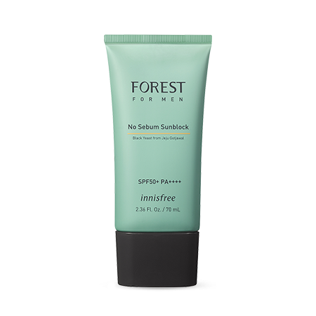 [New 2019] Kem chống nắng cho nam Innisfree Forest For Men No Sebum Sunblock SPF50+ PA++++70ml
