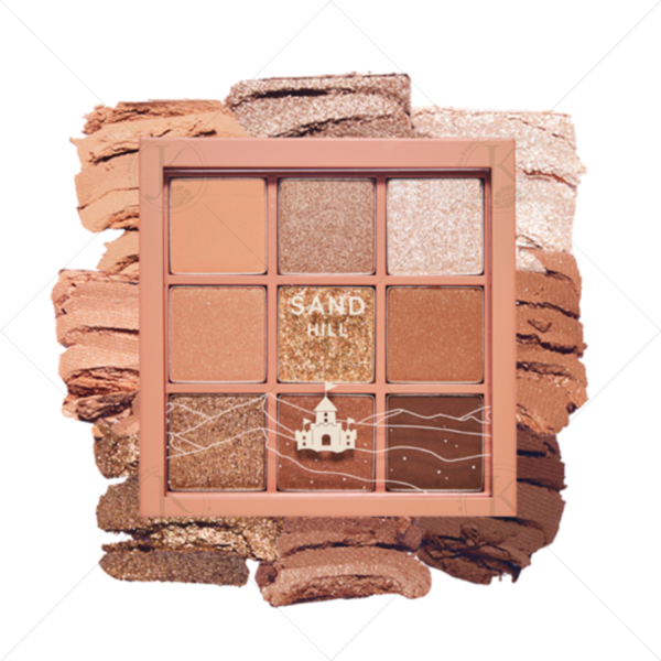 Phấn mắt 9 màu Etude House Play Color Eyes Sand Hill 6.3g