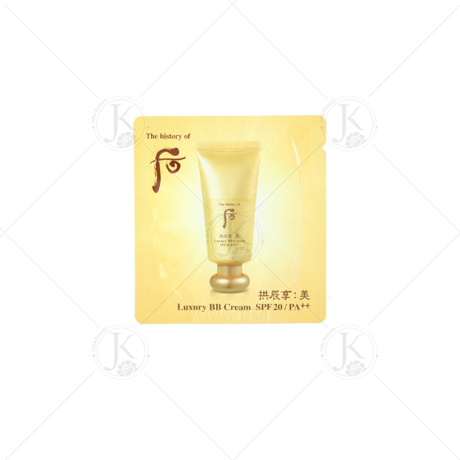 Sample kem lót The Whoo Luxury BB Cream SPF20/PA++ 1ml