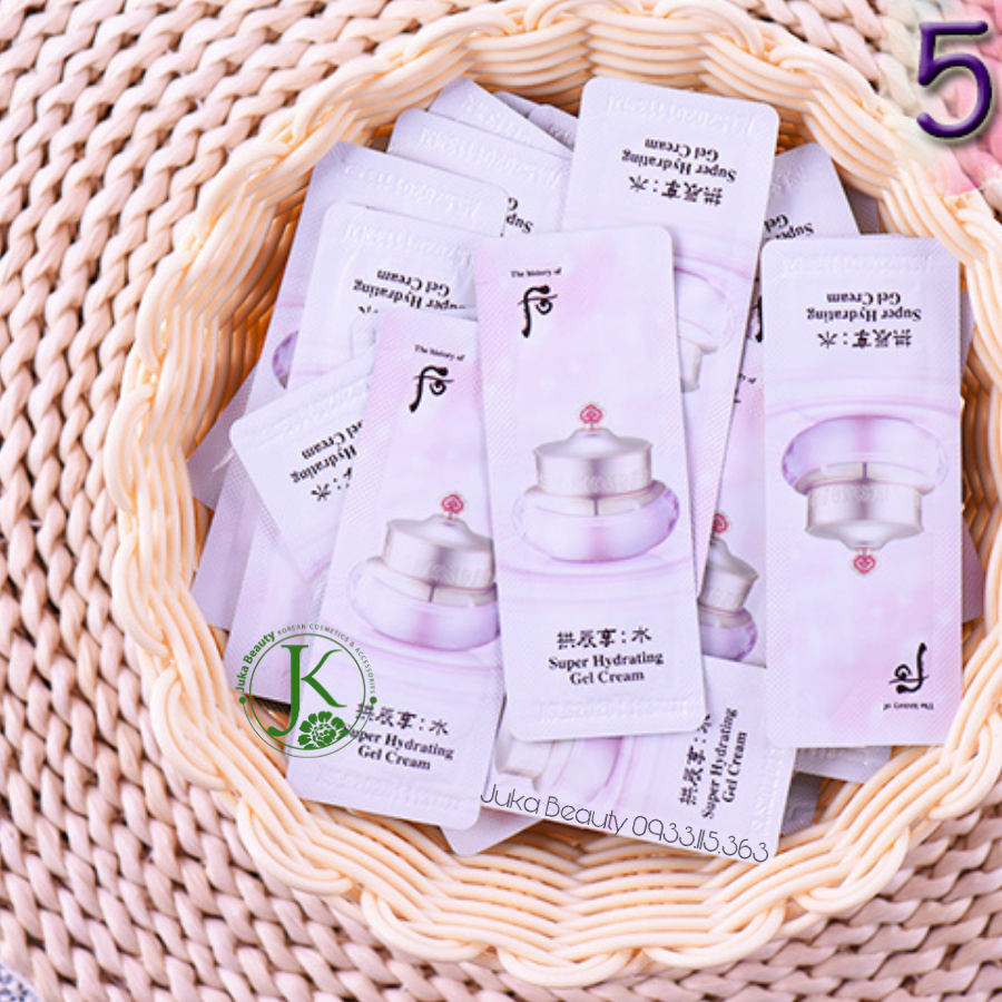 Sample gel dưỡng ẩm The Whoo Vital Hydrating Cream 1ml