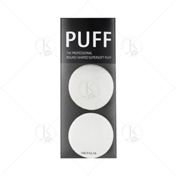 Bông phấn Aritaum The Professional Round-Shaped Soft Powder Puff (2 miếng)