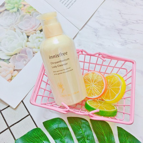 Dung dịch vệ sinh phụ nữ Innisfree Chrysanthemum Lady Cleanser 200ml