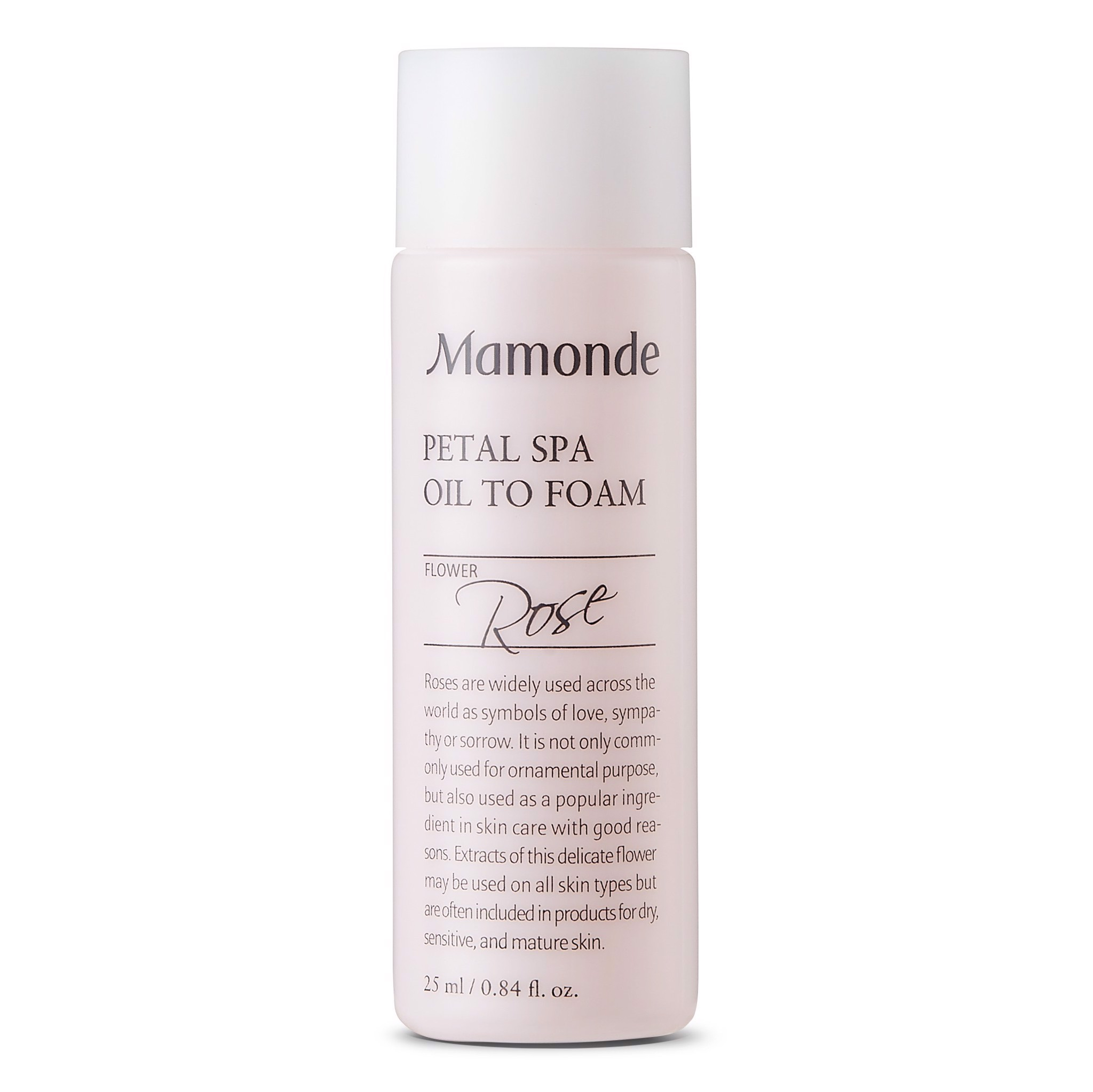 (Mini Size) Sữa rửa mặt Mamonde Petal Spa Oil To Foam 25Ml