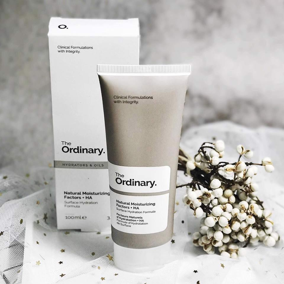Kem dưỡng ẩm sâu The Ordinary Natural Moisturizing Factors + HA 100ml