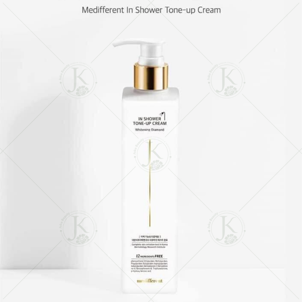 (Mẫu mới) Sữa Tắm Truyền Trắng Medifferent In Shower Tone-Up Cream 300ml
