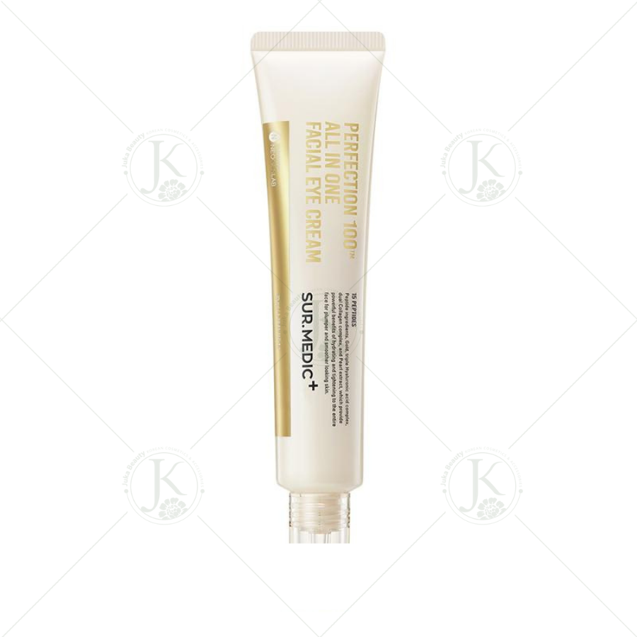 Kem dưỡng mắt từ vàng 24K Sur.Medic Perfection 100 All In One Facial Eye Cream 35ml