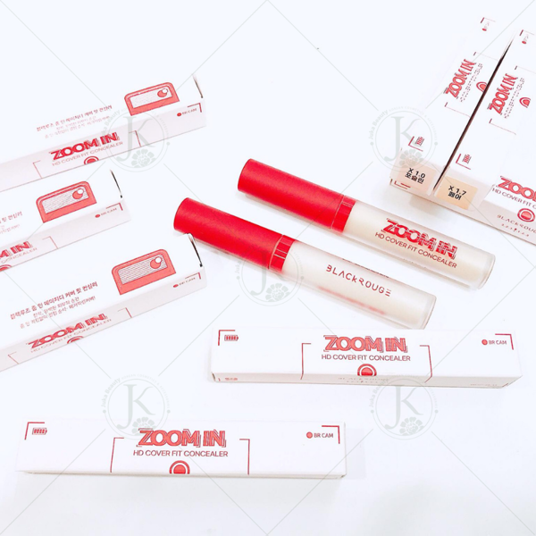 Kem che khuyết điểm Black Rouge Zoom In HD Cover Fit Concealer 3g