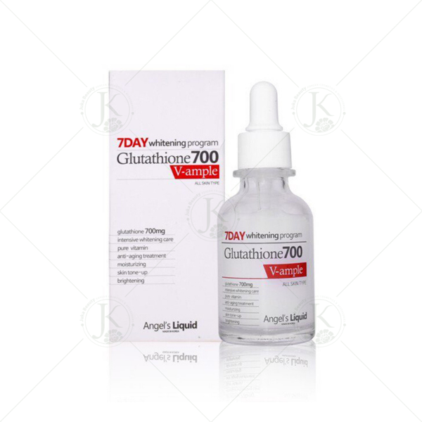 Huyết thanh dưỡng trắng Angel's Liquid 7Day Whitening Program Glutathione700 V Ample 30ml