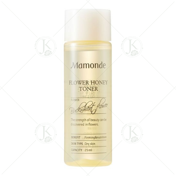 (Mini size 25ml) Nước hoa hồng Mamonde Flower Honey Toner 25ml