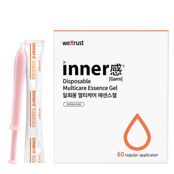 (Nguyên hộp) Gel phụ khoa Wettrust Inner Garm Disposable Multicare Essence Gel (5ml x 60ea)