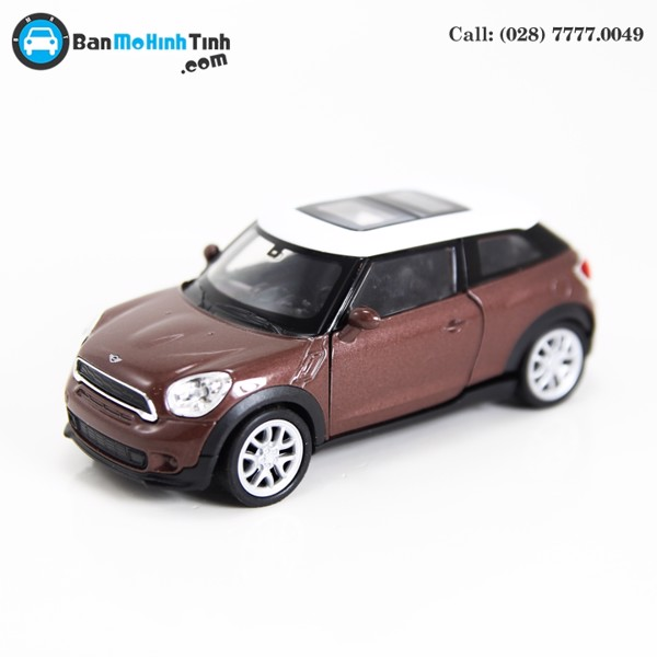 MÔ HÌNH MINI COOPER S PACEMAN BROWN 1:36 WELLY- 43685