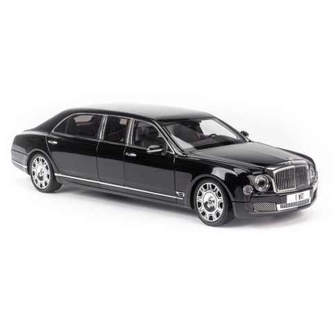 Mô hình xe Bentley Mulsanne Grand Limousine by Mulliner 1:18 Almost Real