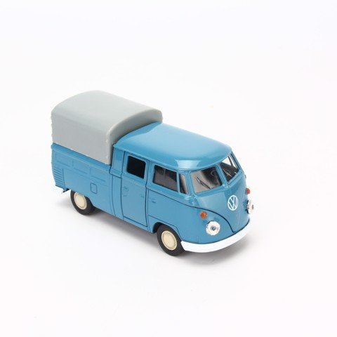 Mô hình xe Volkswagen Double Cabin Pick Up Blue 1:36 Welly- 43603H