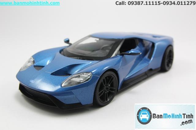 Mô hình xe ô tô XE FORD GT 2017 BLUE