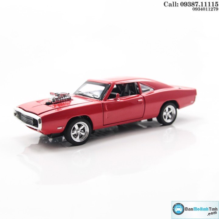 MÔ HÌNH DODGE CHALLENGER FAST AND FURIOUS RED 1:32 MINIAUTO