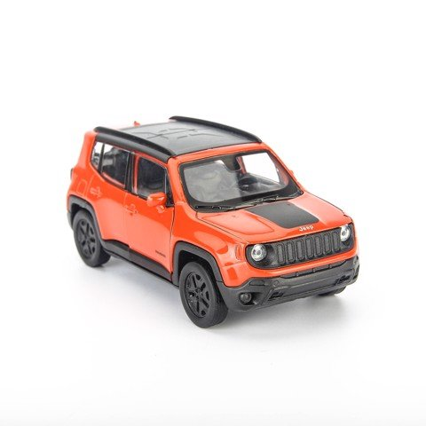 Mô hình xe Jeep Wrangler Renegade Trailhawk Orange 1:36 Welly