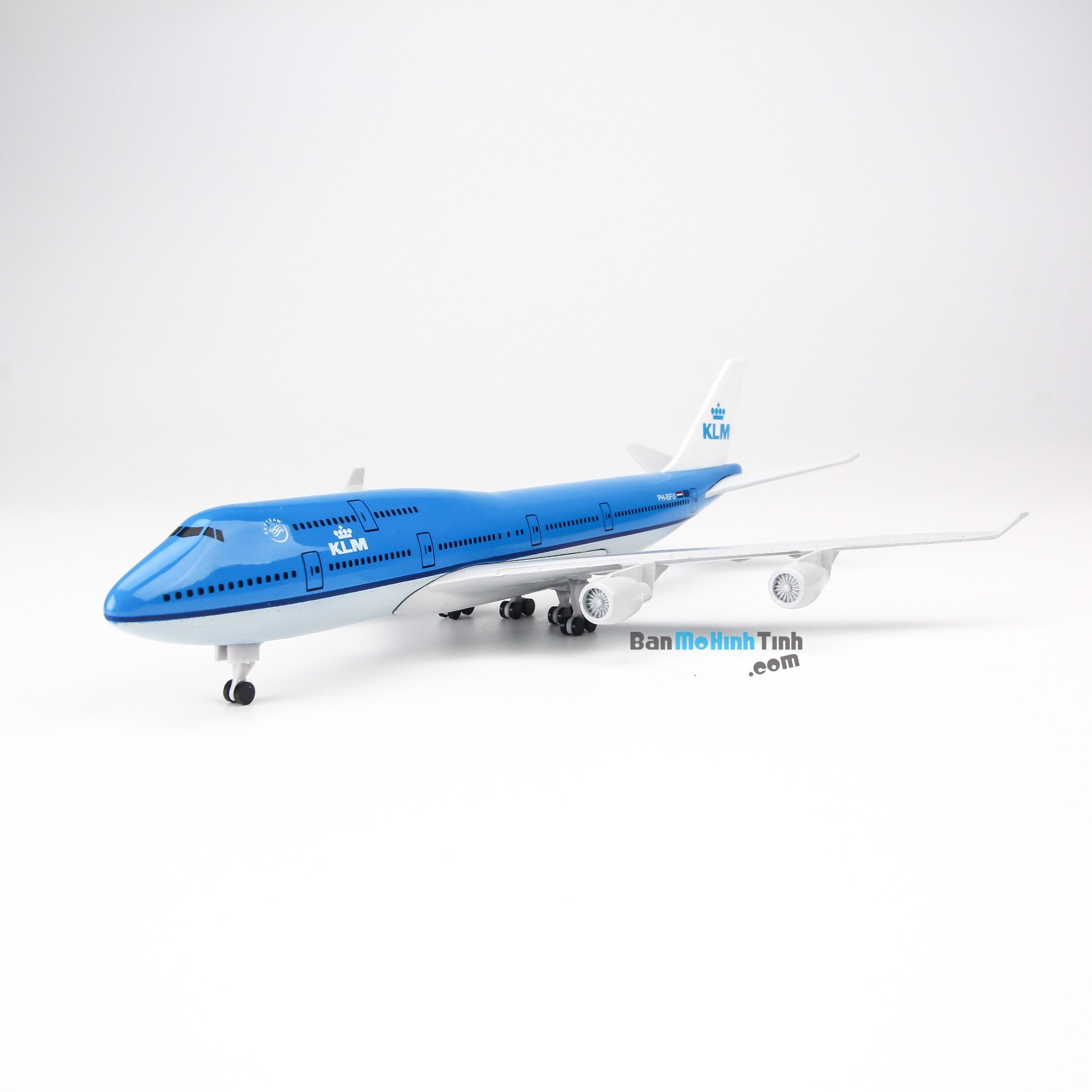 Mô hình máy bay KLM Royal Dutch Airlines Boeing B747 20cm Everfly