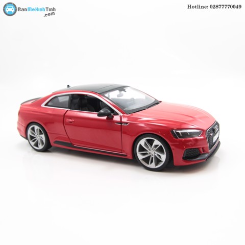 AUDI RS5 COUPE RED 1:24 BBURAGO- 18-21090