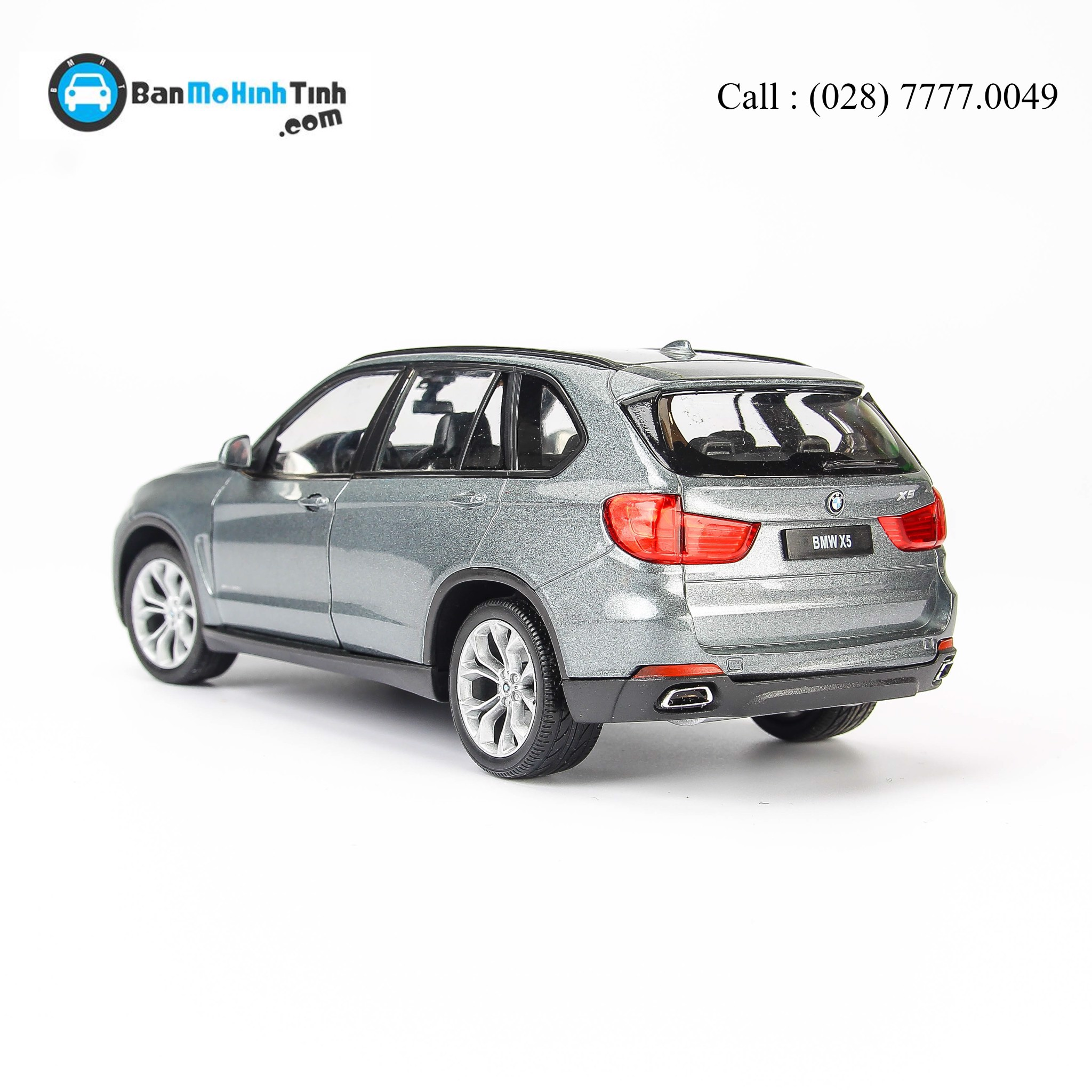BMW X5 GREY 1:24 WELLY 24052W