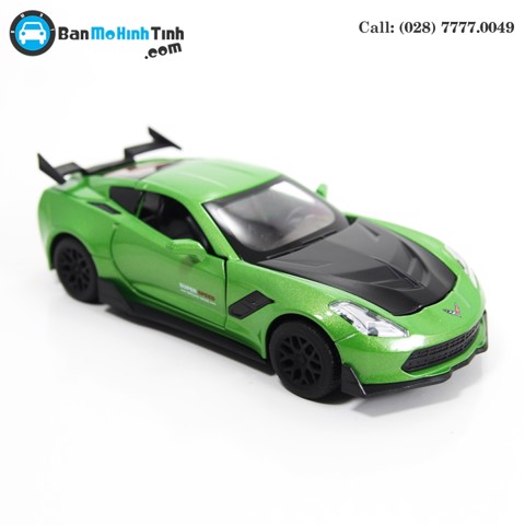 MÔ HÌNH CHEVROLET CORVETTE ZR1 GREEN 1:32 TYMODELS