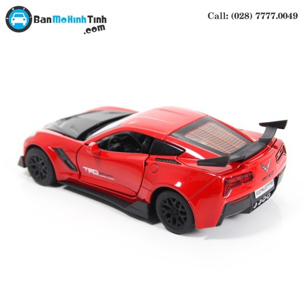 MÔ HÌNH CHEVROLET CORVETTE ZR1 RED/BLACK 1:32 TYMODELS