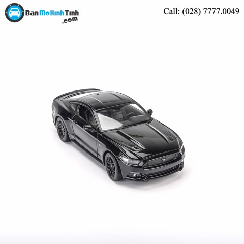 MÔ HÌNH FORD MUSTANG GT 2015 BLACK 1:24 WELLY