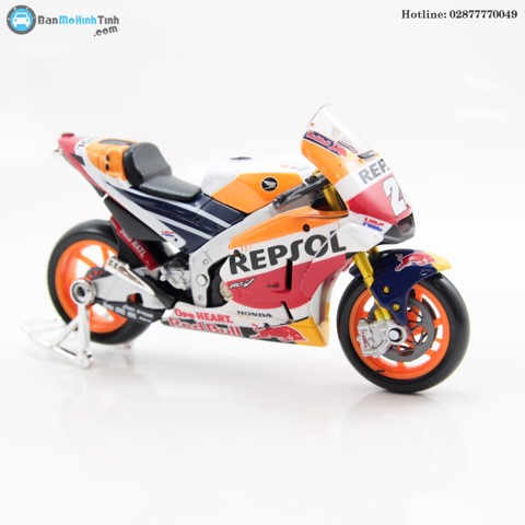 MÔ HÌNH HONDA RACING TEAM RV213V MOTO GP 26 2018 1:18 MAISTO- 31595-26