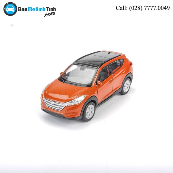 MÔ HÌNH HYUNDAI TUCSON ORANGE 1:36 WELLY- 43718CW
