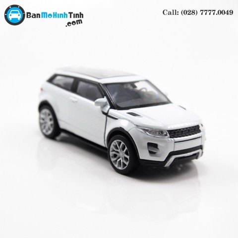 MÔ HÌNH LAND ROVER EVOQUE WHITE 1:36 WELLY