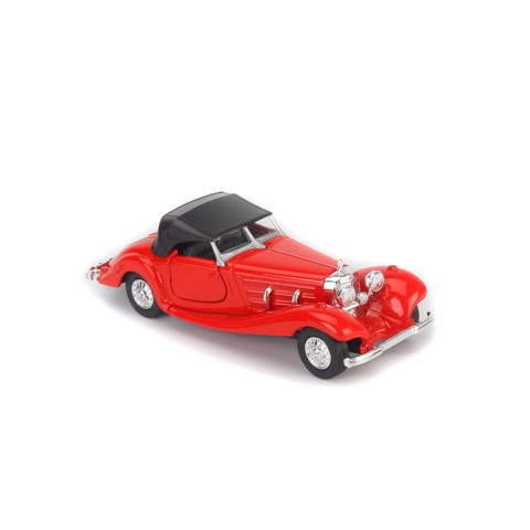Mô hình xe Mercedes-Benz 500K Type Coupe Red 1:36 Welly- 98879H