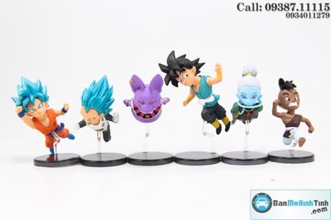 MÔ HÌNH DRAGON BALL CHIBI BANPRESTO SET DRAGON BALL