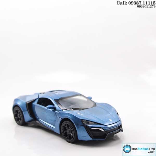 MÔ HÌNH LYKAN HYPERSPORT BLUE FAST AND FURIOUS 1:32 MINIAUTO