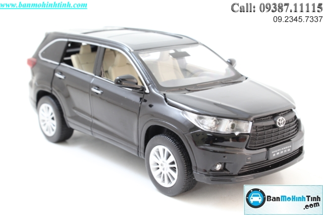 MO-HINH-O-TO-TOYOTA-HIGHLANDER-BLACK-1-32-DEALER