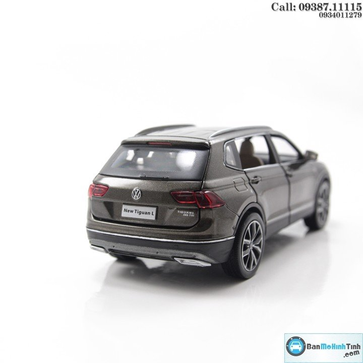 MÔ HÌNH VOLKSWAGEN NEW TIGUAN GREY 1:32 DEALER