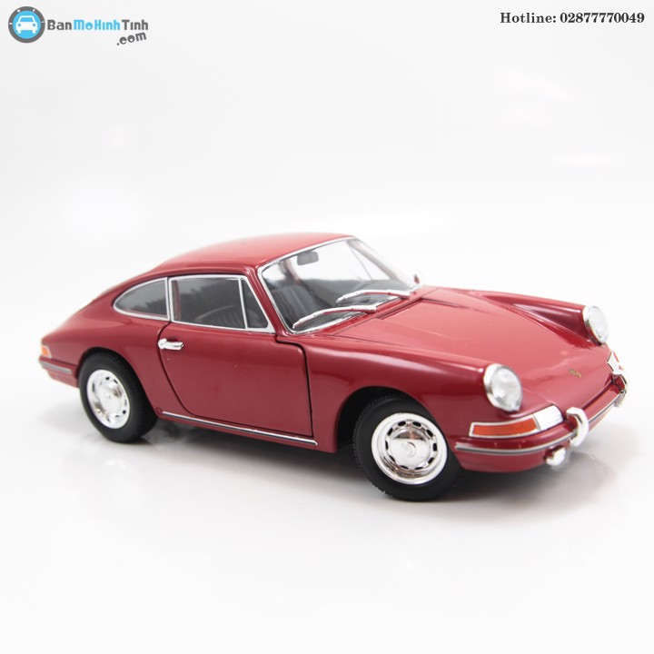 MÔ HÌNH PORSCHE 911 1964 RED 1:24 WELLY-24087