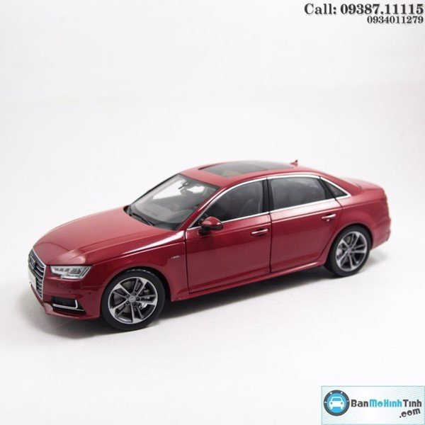 Mô hình xe Audi A4 All New 2017 Sedan 1:18 Dealer