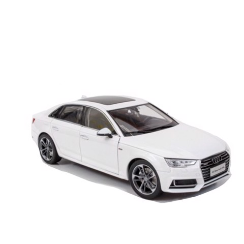 Mô hình xe Audi A4 All New 2017 Sedan White 1:18 Dealer