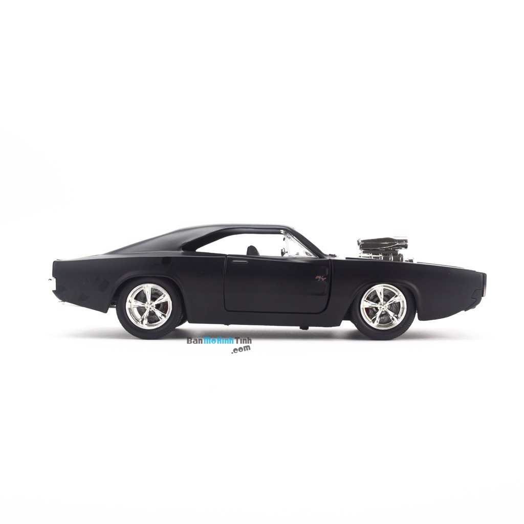 Mô hình xe Dom's Dodge Charger R/T Fast and Furious 1:24 Jada