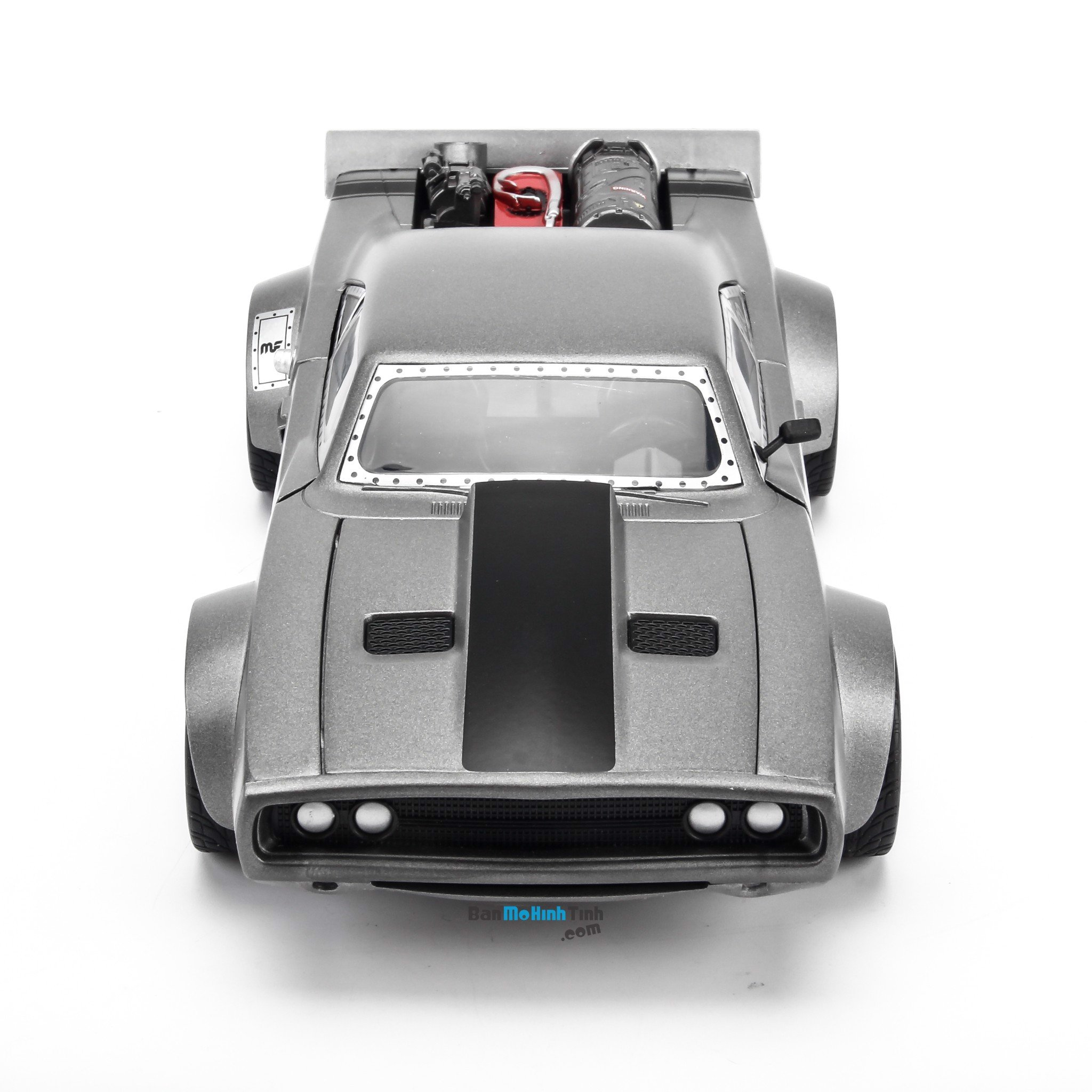 Mô hình xe Dom's Dodge Ice Charger Fast and Furious Grey 1:24 Jada