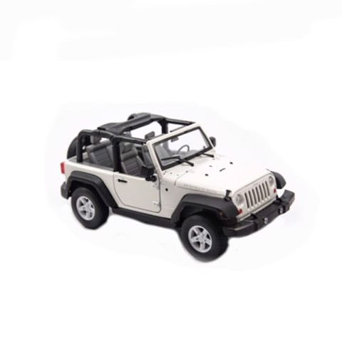 Mô hình xe Jeep Wrangler Rubicon - Open Top 1:24 Welly