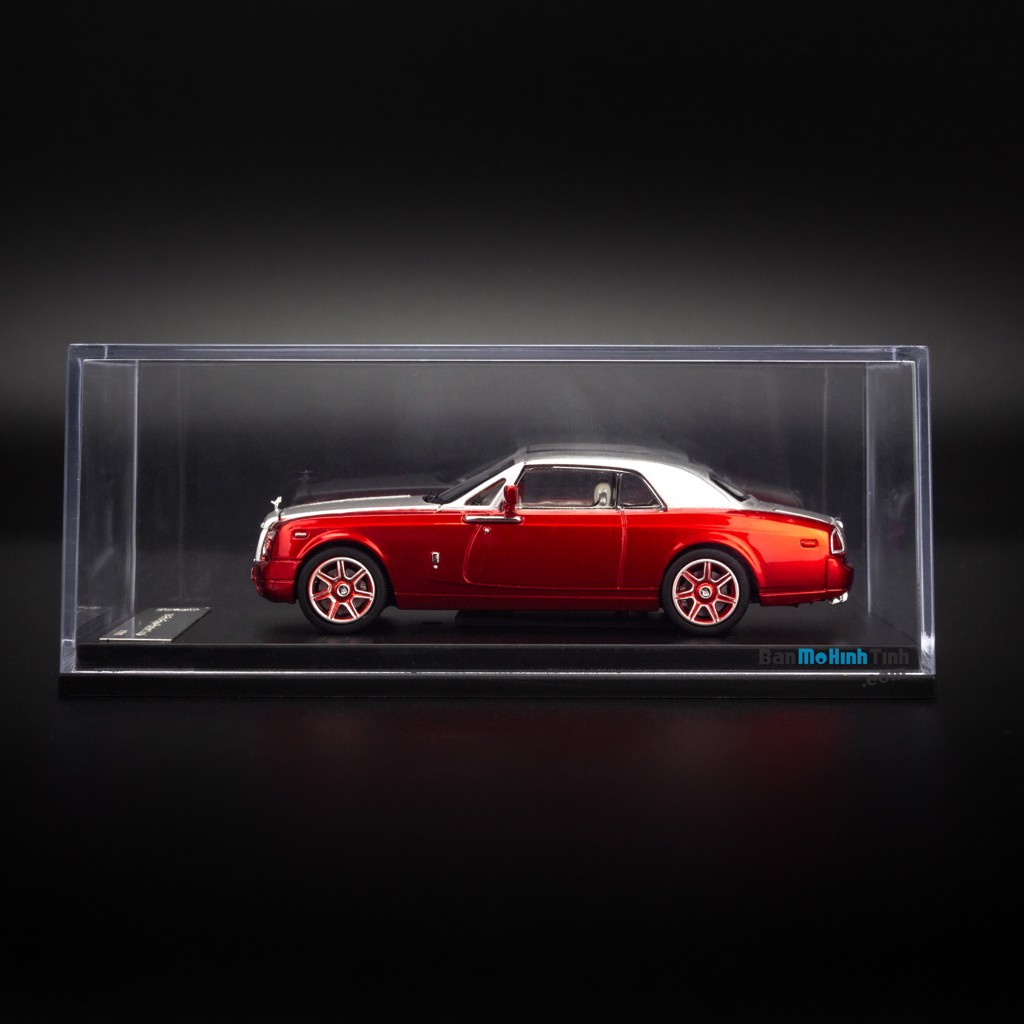Mô hình xe Rolls Royce Phantom Coupe 1:64 Dealer Limited Edition