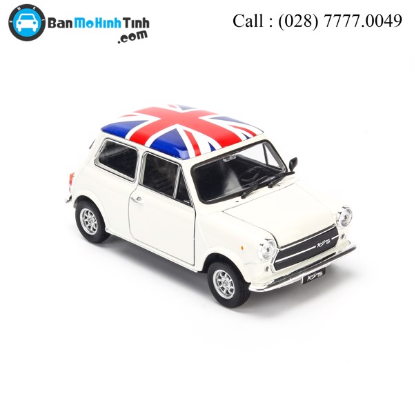 Mô hình xe Mini Cooper 1300 British Flag Edittion 1:24 Welly - 22496