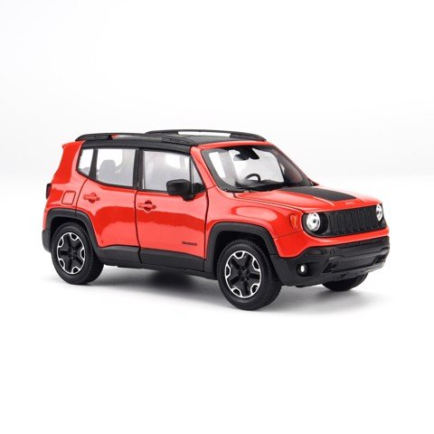 Mô hình xe Jeep Renegade Trailhawk Orange 1:24 Welly - 24071