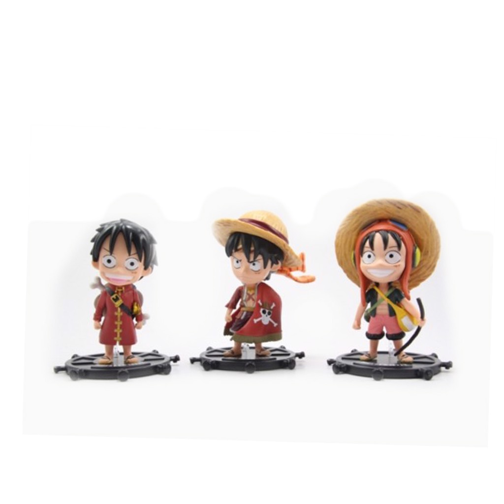 Mô hình  Monkey D.Luffy One Piece Set
