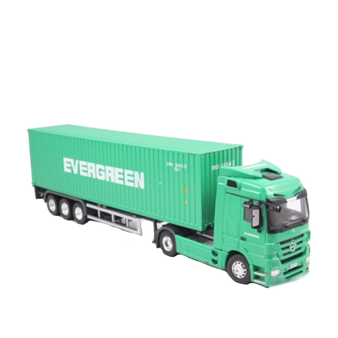 Mô hình xe Mercedes-Benz Actros - Evergreen container 1:50 Dealer