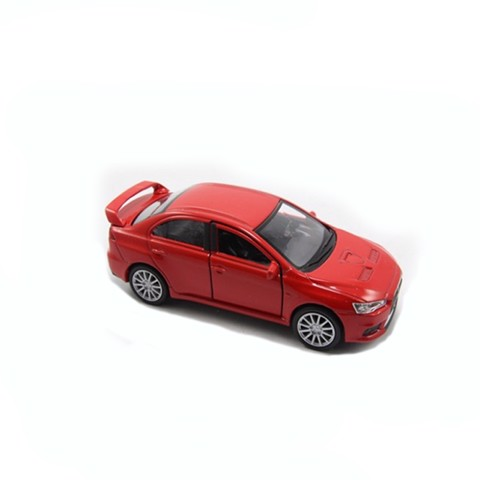 Mô hình xe Mitsubishi Lancer Evolution Red 1:36 Welly