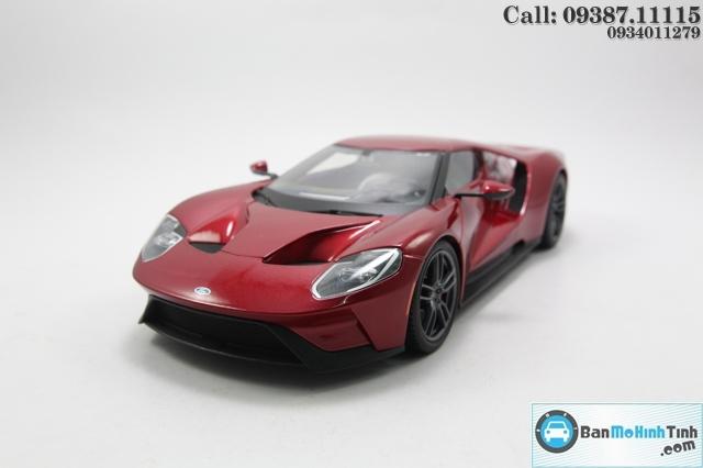 Mô hình xe ô tô XE-FORD GT 2017 RED